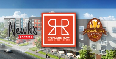Additional Dining Options for Highland Row