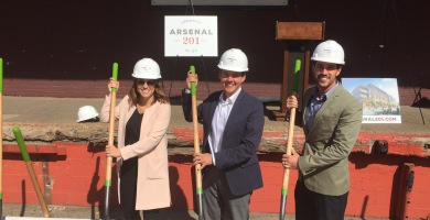 Milhaus Breaks Ground on Arsenal 201 in Lawrenceville